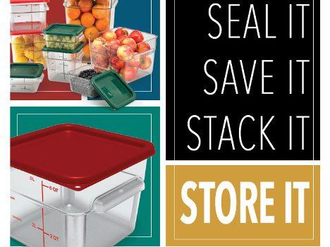 New Food Storage